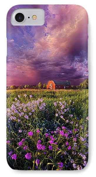 Songs Of Days Gone By IPhone Case by Phil Koch