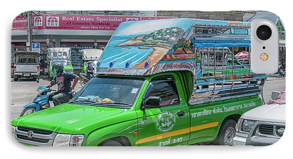 IPhone Case featuring the photograph Songthaew Minibus by Antony McAulay