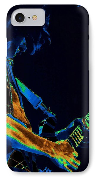 Sonic Guitar Explosions Art 1 Phone Case by Ben Upham