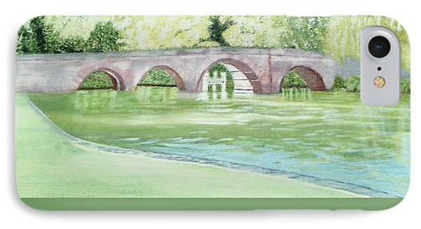 Sonning Bridge  IPhone Case by Joanne Perkins