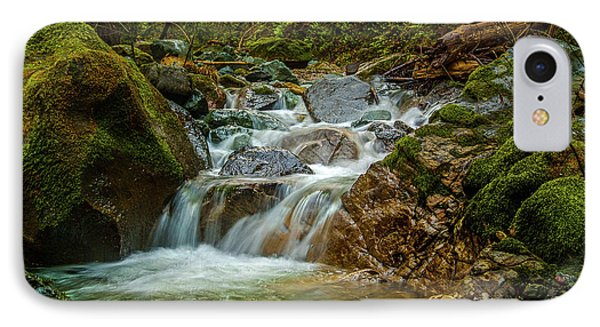 Sonoma Valley Creek IPhone Case by Bill Gallagher