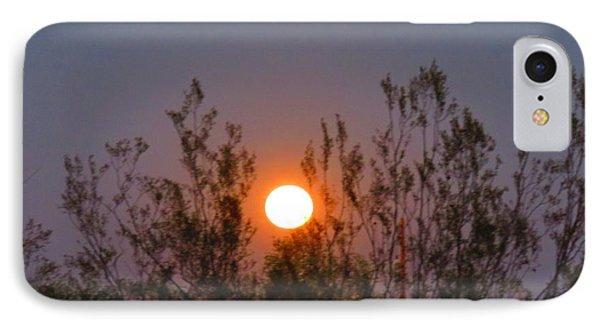 Sonoran Desert Harvest Moon IPhone Case