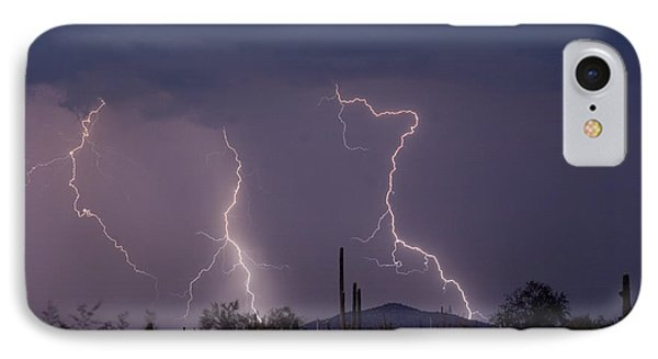Sonoran Storm Phone Case by James BO  Insogna