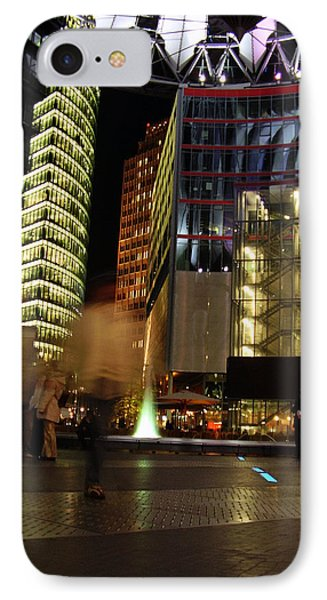 Sony Center IPhone Case by Flavia Westerwelle