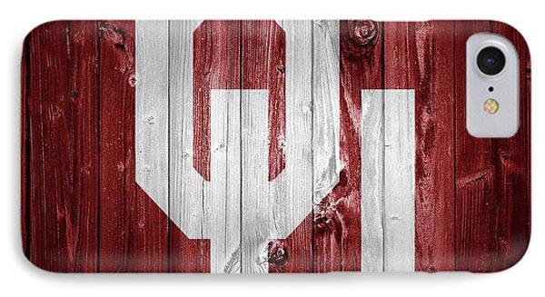 Oklahoma University iPhone 7 Case - Sooners Barn Door by Dan Sproul