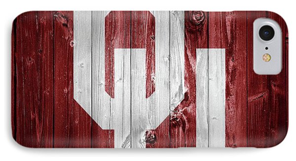 Sooners Barn Door IPhone Case by Dan Sproul