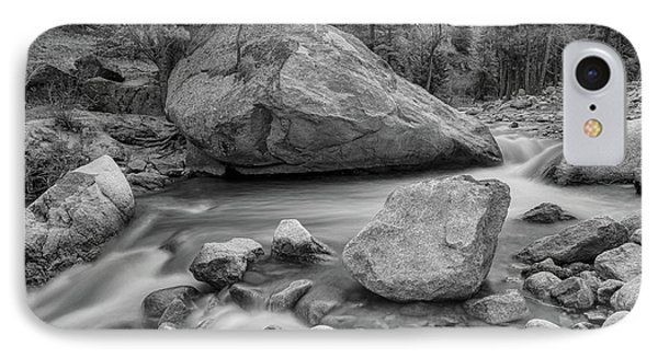 Soothing Colorado Monochrome Wilderness IPhone Case by James BO Insogna