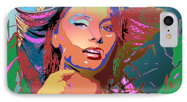 IPhone Case featuring the digital art Sophia 4 by John Keaton