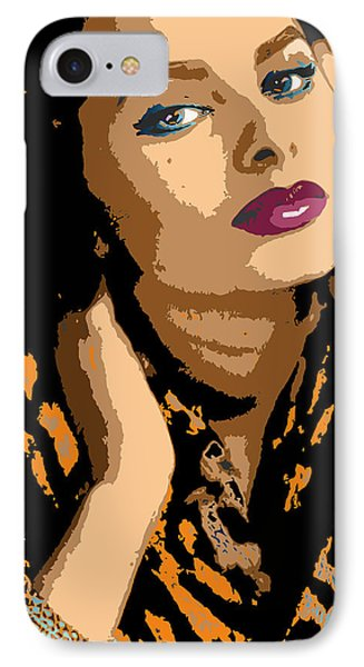IPhone Case featuring the digital art Sophia by John Keaton