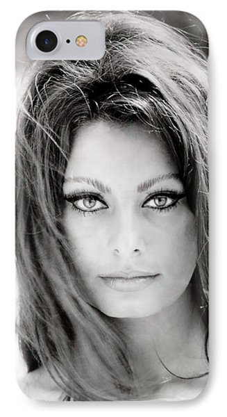 Sophia Loren IPhone Case by Georgia Fowler