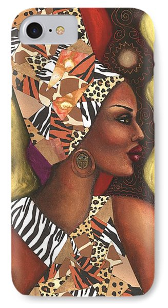 Sophisticated Safari IPhone Case by Alga Washington