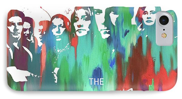 Sopranos Paint Poster IPhone Case by Dan Sproul