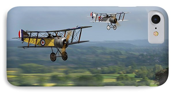 Sopwith Scout 2 IPhone Case by John Wills