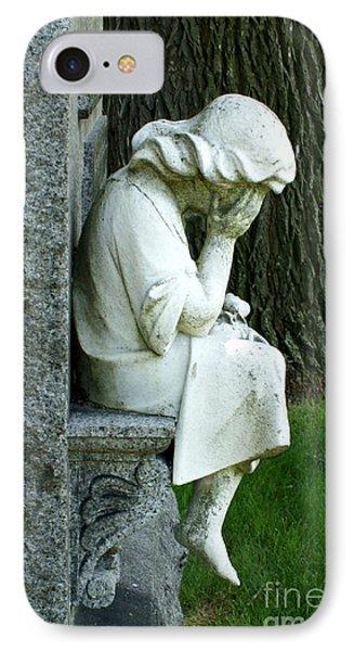 Sorrow Phone Case by Valerie Fuqua