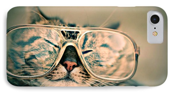 Sosy Cat With Glasses IPhone Case