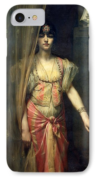 Soudja Sari IPhone Case by Gaston Casimir Saint Pierre