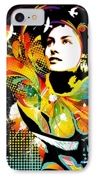 Soul Explosion II Phone Case by Chris Andruskiewicz