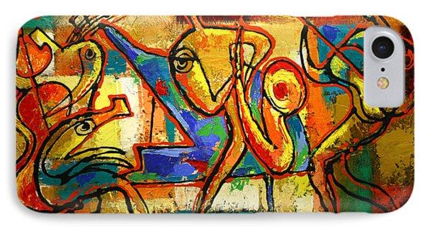 Soul Jazz IPhone Case by Leon Zernitsky