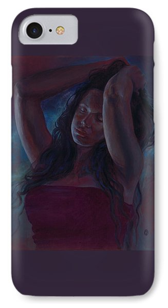 IPhone Case featuring the painting Soul Nocturne by Ragen Mendenhall
