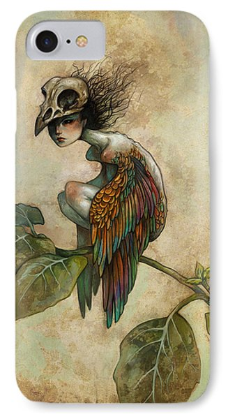 Fantasy iPhone 7 Case - Soul Of A Bird by Caroline Jamhour