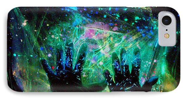 IPhone Case featuring the photograph Soul Of An Artist Experimental Light Photography by David Mckinney