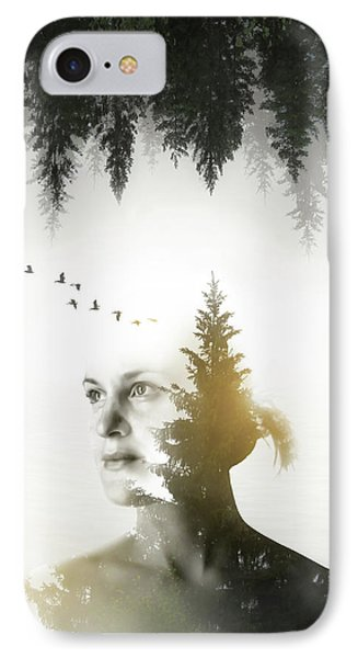 Soul Of Nature IPhone Case by Nicklas Gustafsson