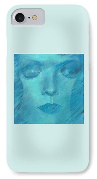 IPhone Case featuring the painting Soul  by Ragen Mendenhall