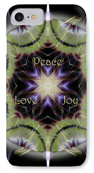 Soul Star Holiday Mandala IPhone Case by Alicia Kent