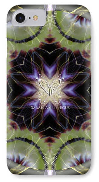 Soul Star Shaman IPhone Case by Alicia Kent