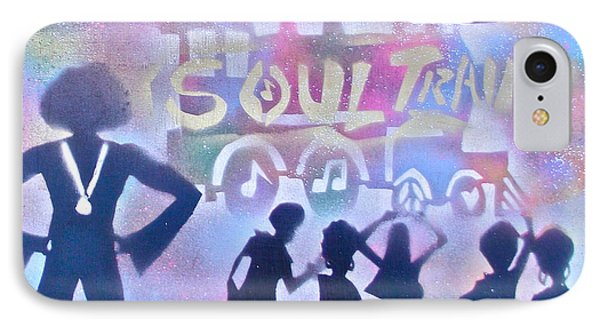Soul Train 1 Phone Case by Tony B Conscious