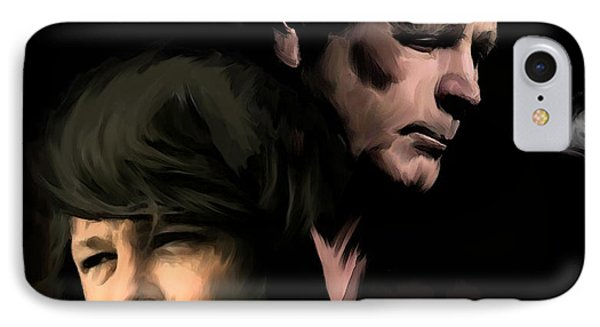 Soulful Genius Brian Wilson  IPhone Case by Iconic Images Art Gallery David Pucciarelli