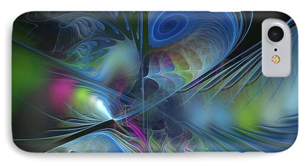 Sound And Smoke IPhone Case by Karin Kuhlmann