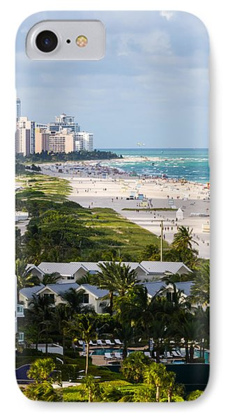 South Beach Late Afternoon IPhone Case by Ed Gleichman
