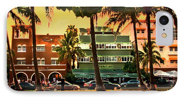 South Beach Ocean Drive IPhone Case
