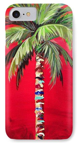 South Beach Palm II IPhone Case by Kristen Abrahamson