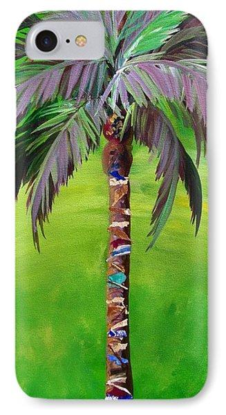 South Beach Palm IIi IPhone Case by Kristen Abrahamson