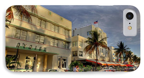 South Beach Park Central Hotel IPhone Case