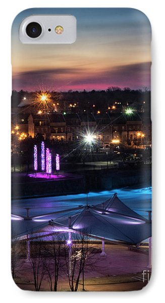 IPhone Case featuring the photograph South Bend River Sunrise by Brian Jones