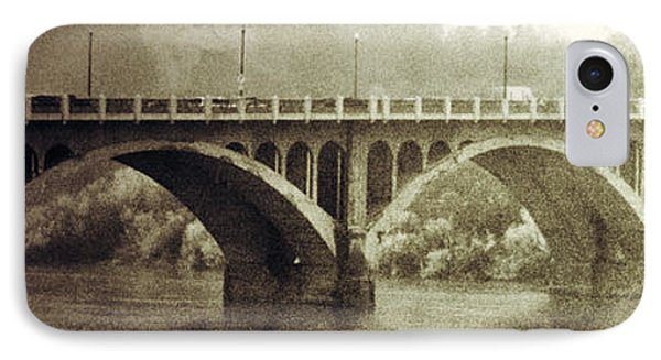 South Bridge  IPhone Case by Empty Wall