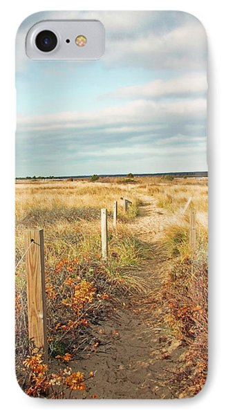 South Cape Beach Trail IPhone Case by Brooke T Ryan