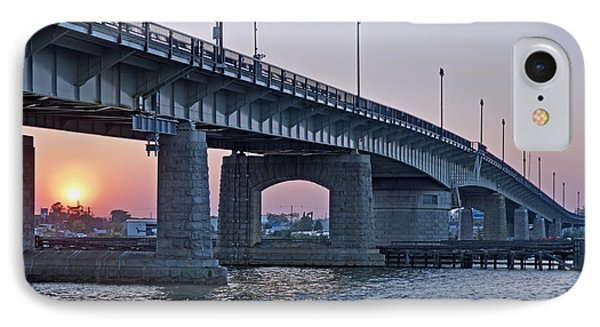 South Capitol Street Bridge Over Anacostia River In Washington Dc Phone Case by Brendan Reals