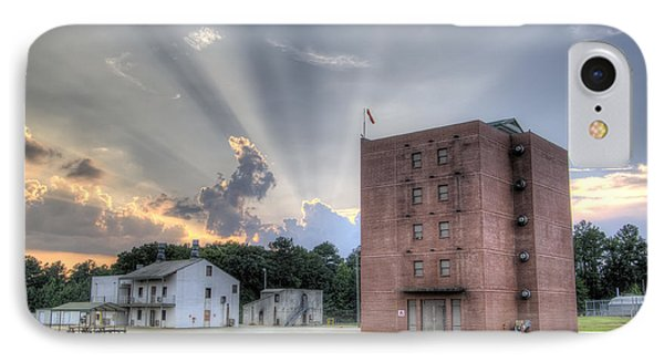 South Carolina Fire Academy Tower IPhone Case by Dustin K Ryan