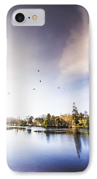 South-east Tasmania River Landscape IPhone Case by Jorgo Photography - Wall Art Gallery