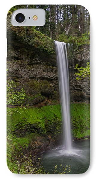 IPhone Case featuring the photograph South Falls by Jerry Cahill