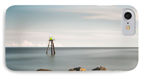 South Jetty Marker IPhone Case by Ivo Kerssemakers