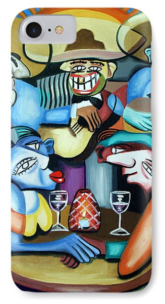 South Of The Boarder Phone Case by Anthony Falbo