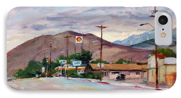 South On Route 395, Big Pine, California Phone Case by Peter Salwen