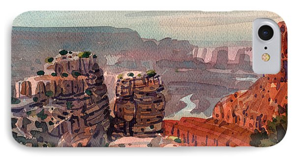 South Rim IPhone Case by Donald Maier