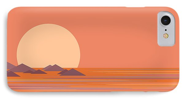 IPhone Case featuring the digital art South Sea by Val Arie