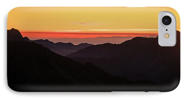 South Sound Sunset Layers IPhone Case by Mike Reid